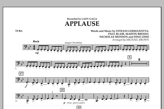 Applause - Tuba (Concert Band)