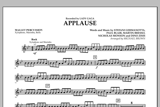 Applause - Mallet Percussion (Concert Band)