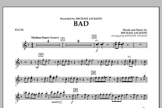 Bad - Flute (Concert Band)