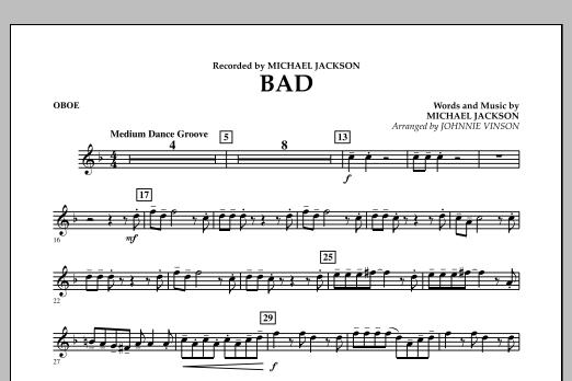 Bad - Oboe (Concert Band)