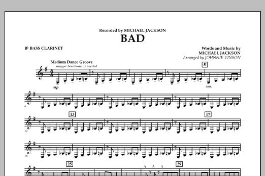 Bad - Bb Bass Clarinet (Concert Band)