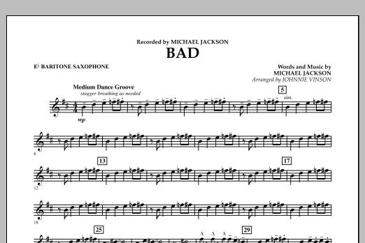 Bad - Eb Baritone Saxophone (Concert Band)