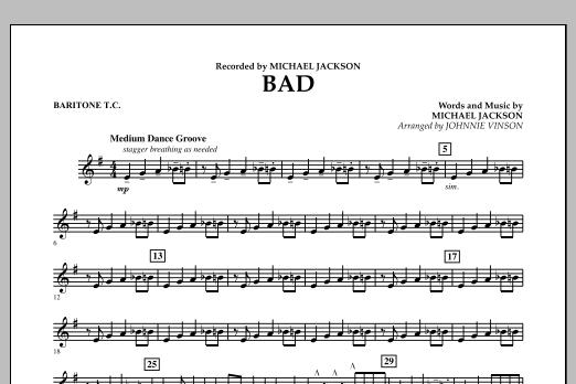Bad - Baritone T.C. (Concert Band)