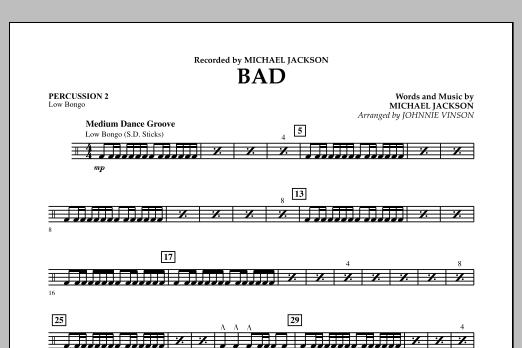 Bad - Percussion 2 (Concert Band)