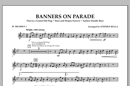 Banners on Parade - Bb Trumpet 1 (Concert Band)