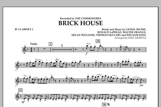 Brick House - Bb Clarinet 1 (Concert Band)