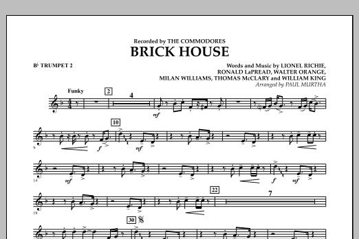 Brick House - Bb Trumpet 2 (Concert Band)