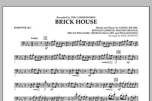 Brick House - Baritone B.C. (Concert Band)