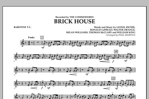Brick House - Baritone T.C. (Concert Band)