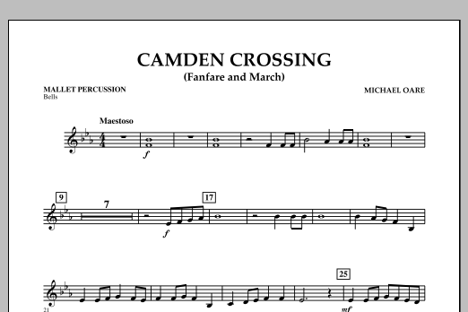 Camden Crossing (Fanfare and March) - Mallet Percussion (Concert Band)