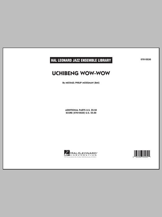 Uchibeng Wow-wow - Conductor Score (Full Score) (Jazz Ensemble)