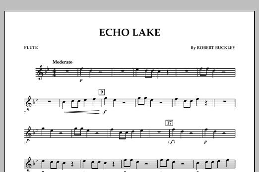 Echo Lake - Flute (Concert Band)