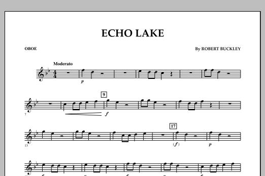 Echo Lake - Oboe (Concert Band)