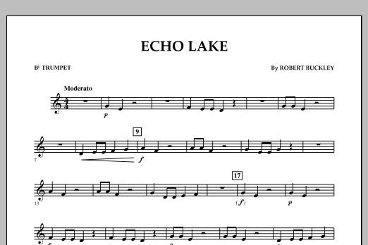 Echo Lake - Bb Trumpet (Concert Band)