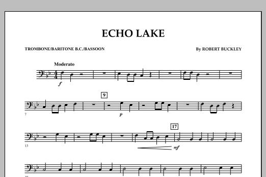Echo Lake - Trombone/Baritone B.C./Bassoon (Concert Band)