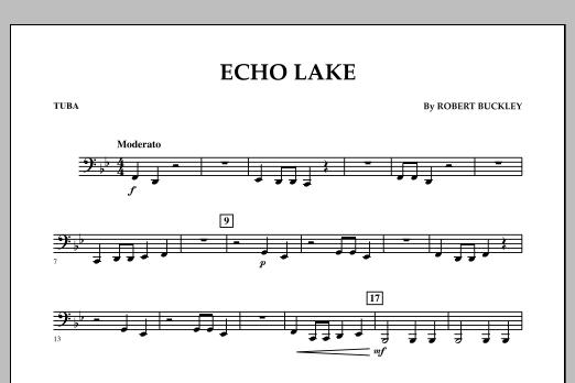 Echo Lake - Tuba (Concert Band)
