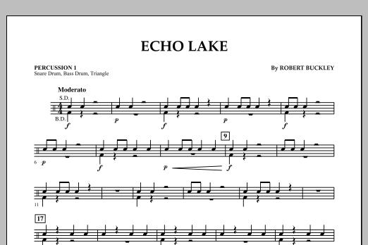 Echo Lake - Percussion 1 (Concert Band)