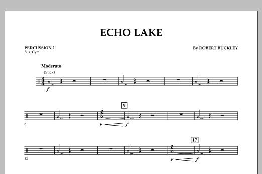 Echo Lake - Percussion 2 (Concert Band)