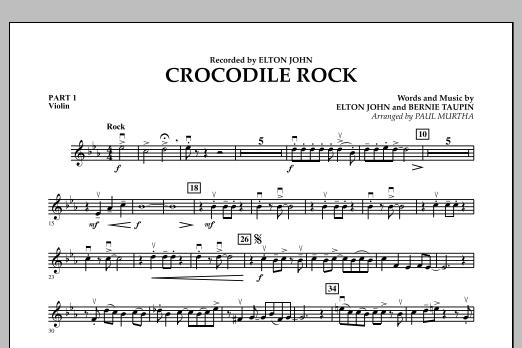 Crocodile Rock - Pt.1 - Violin (Flex-Band)
