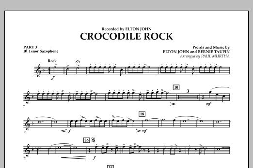 Crocodile Rock - Pt.3 - Bb Tenor Saxophone (Flex-Band)