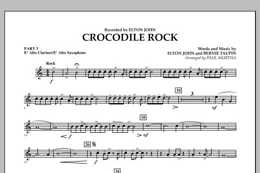 Crocodile Rock - Pt.3 - Eb Alto Sax/Alto Clar. (Flex-Band)