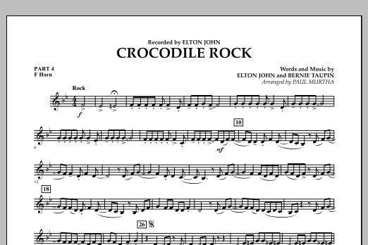 Crocodile Rock - Pt.4 - F Horn (Flex-Band)
