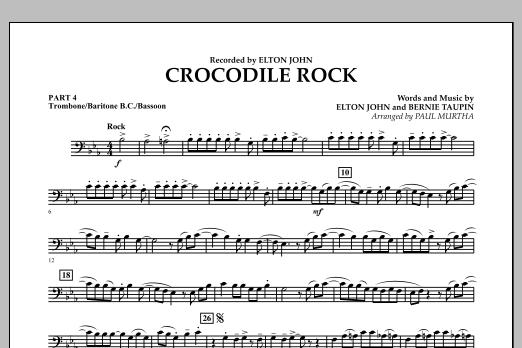 Crocodile Rock - Pt.4 - Trombone/Bar. B.C./Bsn. (Flex-Band)