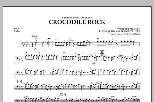Crocodile Rock - Pt.4 - Cello (Flex-Band)