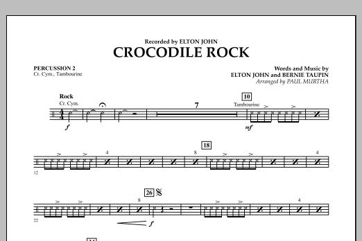 Crocodile Rock - Percussion 2 (Flex-Band)