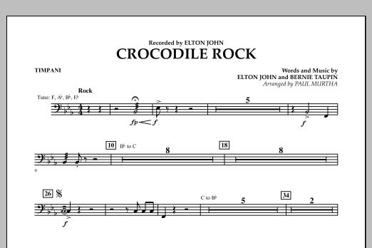 Crocodile Rock - Timpani (Flex-Band)