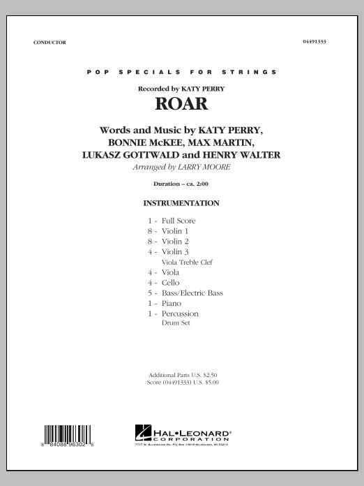 Roar - Conductor Score (Full Score) (Orchestra)