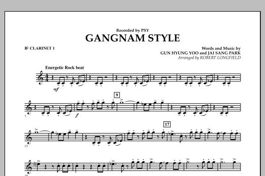 Gangnam Style - Bb Clarinet 1 (Concert Band)
