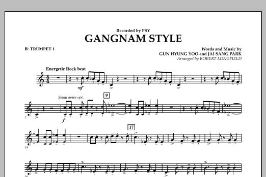 Gangnam Style - Bb Trumpet 1 (Concert Band)