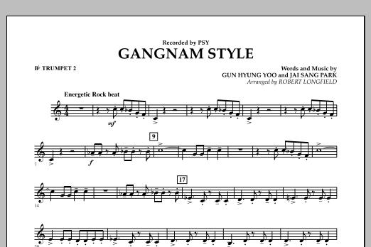 Gangnam Style - Bb Trumpet 2 (Concert Band)