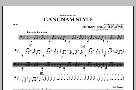 Gangnam Style - Tuba (Concert Band)