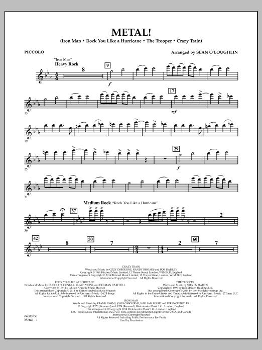 Metal! - Piccolo (Concert Band)