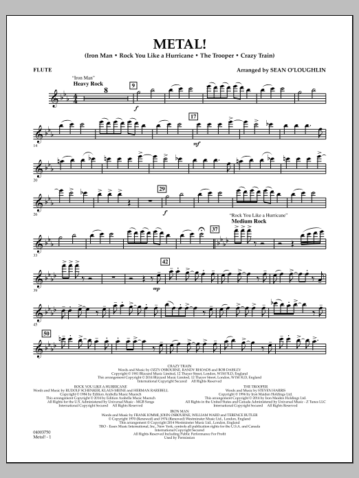 Metal! - Flute (Concert Band)