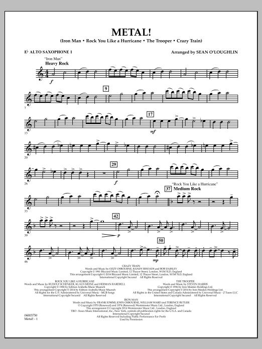 Metal! - Eb Alto Saxophone 1 (Concert Band)