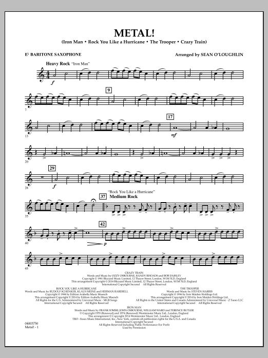 Metal! - Eb Baritone Saxophone (Concert Band)
