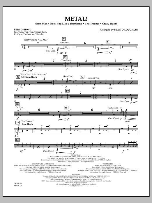 Metal! - Percussion 2 (Concert Band)