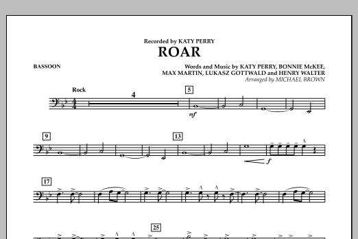 Roar - Bassoon (Concert Band)