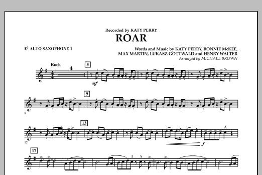 Roar - Eb Alto Saxophone 1 (Concert Band)