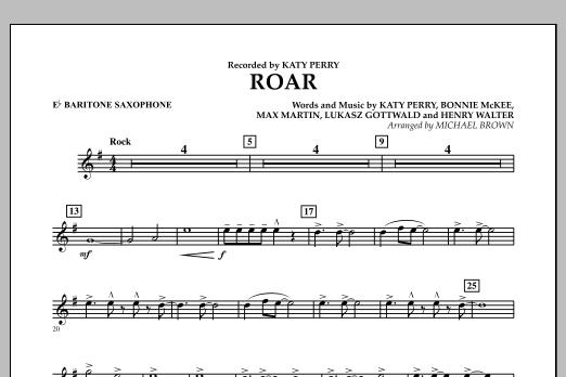 Roar - Eb Baritone Saxophone (Concert Band)