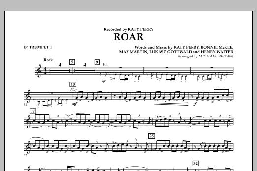 Roar - Bb Trumpet 1 (Concert Band)