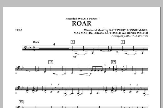 Roar - Tuba (Concert Band)