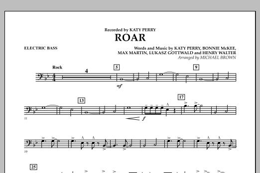 Roar - Bass (Concert Band)