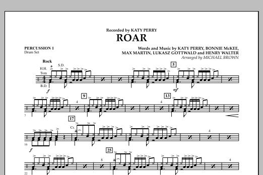 Roar - Percussion 1 (Concert Band)