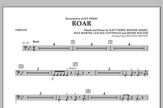 Roar - Timpani (Concert Band)