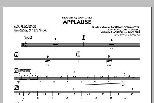 Applause - Aux Percussion (Jazz Ensemble)