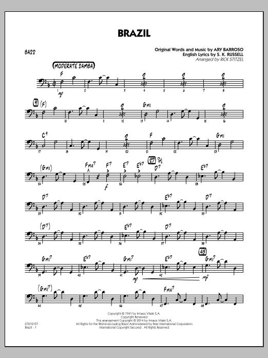 Brazil - Bass (Jazz Ensemble)